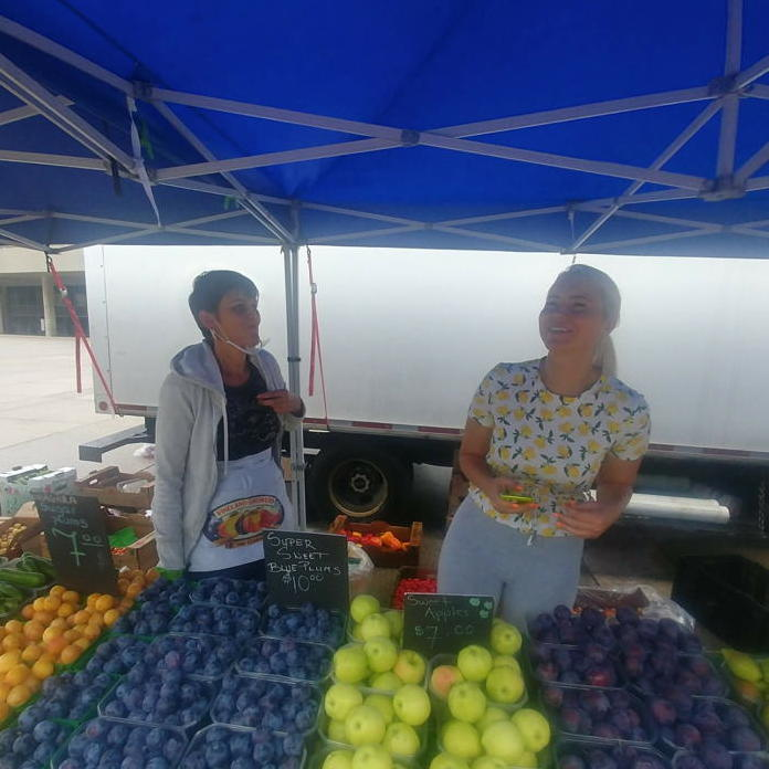 Jack's Farm stand at Nathan Phillips Farmers' Market